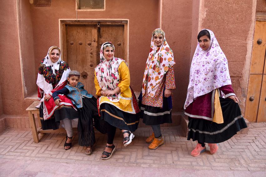 Abyaneh, Menschen, Iran