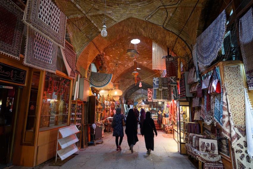 Bazar; Iranerin; Perserinnen; Isfahan